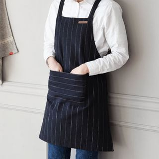 Pocket Pinstriped Apron from iswas