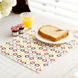 Set of 2: Patterned Table Mats from iswas