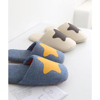 Star Print Slipper (260mm) from iswas