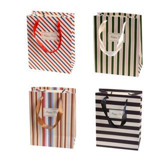 Striped Gift Bag from iswas
