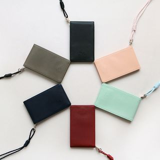 With Alice Series Card Wallet With Strap from iswas