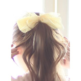 Mesh Bow Hair Pin from kitsch island