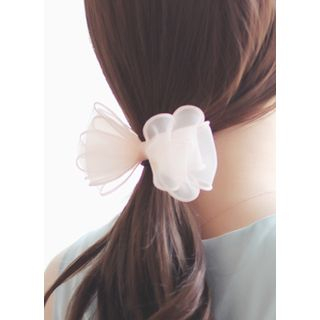 Mesh Bow Hair Tie from kitsch island