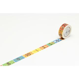 mt Masking Tape : kids Numbers from mt