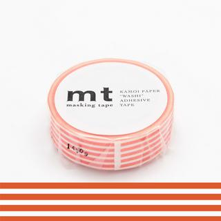 mt Masking Tape : mt 1P Border Bright Orange from mt