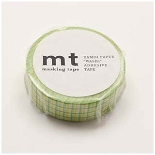 mt Masking Tape : mt 1P Grid Lemon x Grass from mt