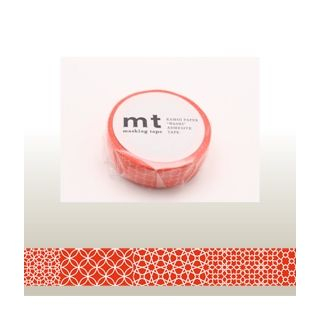 mt Masking Tape : mt 1P Line Pattern (Red) from mt