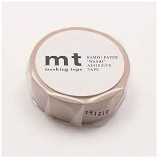 mt Masking Tape : mt 1P Pastel Brown from mt