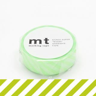 mt Masking Tape : mt 1P Stripe Shocking Green from mt