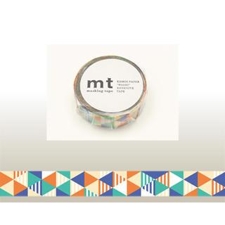 mt Masking Tape : mt 1P Stripe & Triangle Blue from mt