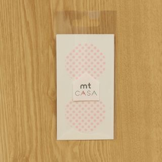 mt Masking Tape : mt CASA seal Dot Strawberry Milk from mt
