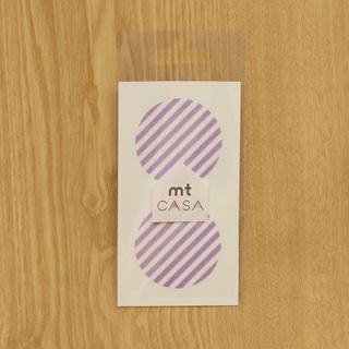 mt Masking Tape : mt CASA seal Stripe Lilac from mt