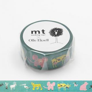 mt Masking Tape : mt Olle Eksell Skansen Animals from mt