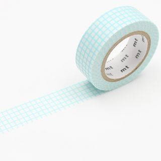 mt Masking Tape : mt deco Grid Mint Blue from mt