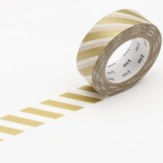 mt Masking Tape : mt deco Stripe Gold from mt