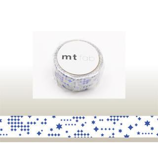 mt Masking Tape : mt fab Star (Blue) from mt